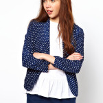 Dot Print Blazer photo