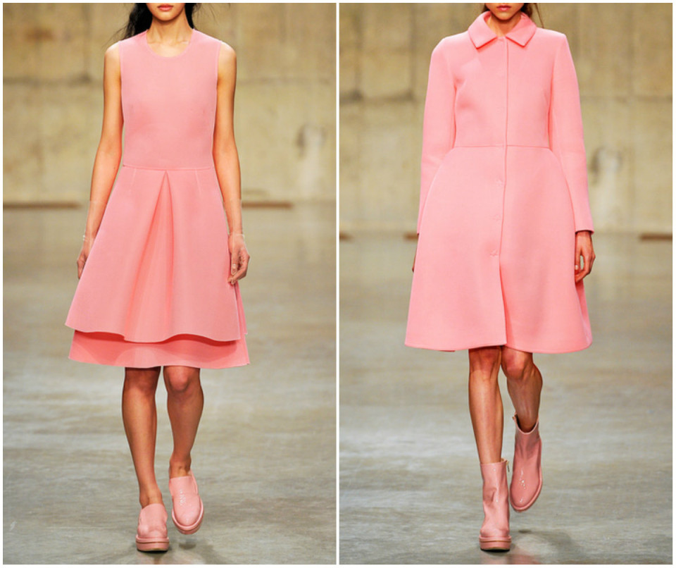 Pink dress Simone Rocha 2013 photo
